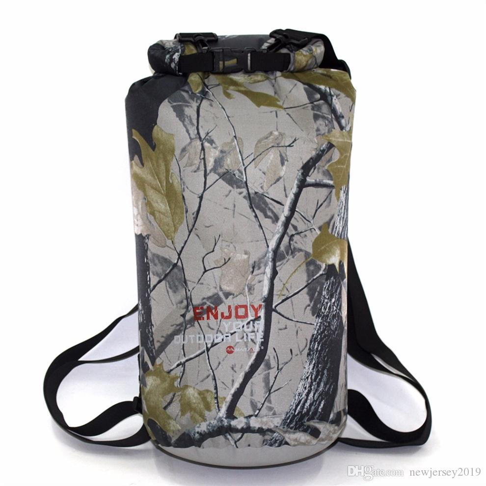 39a2767489 2019 Camouflage 20L Sports Ocean Swimming Water Proof Backpack Bag For  Outdoor PVC Waterproof Dry Pool Impermeable Bag Backpack  234610 From  Newjersey2019