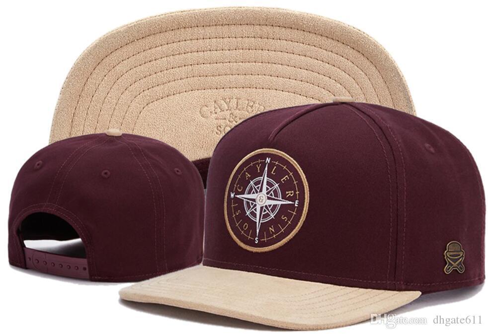 4cf0ded73f1 2019 New Retail Fashion CAYLER   SONS Snapback Cap Hip Hop Men Women Snapbacks  Hat Baseball Sports Cap