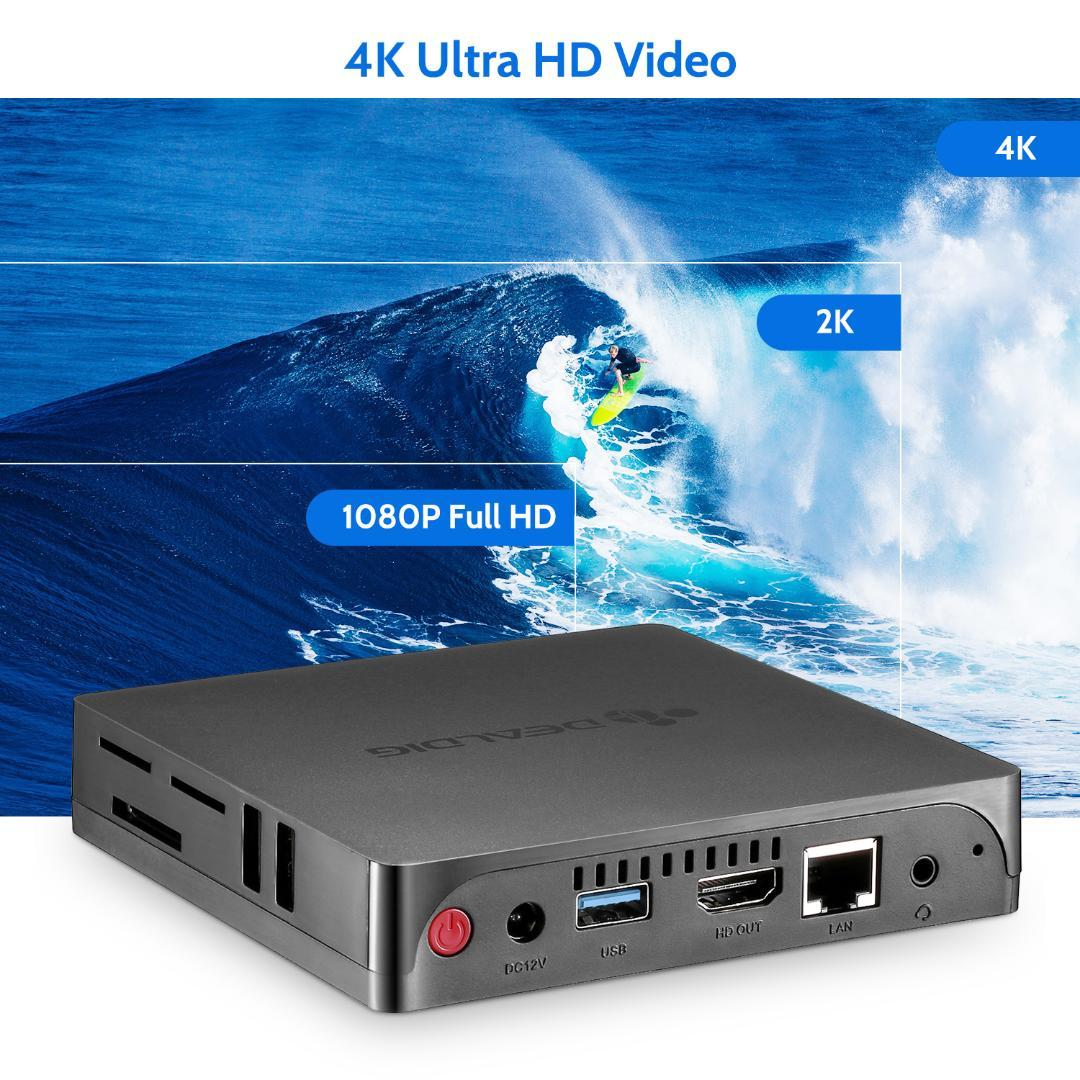 Dealdig Abled2 Mini Pc Intel X5 Z8350 Hdmi Vga Port 1000mbps Bt4 0