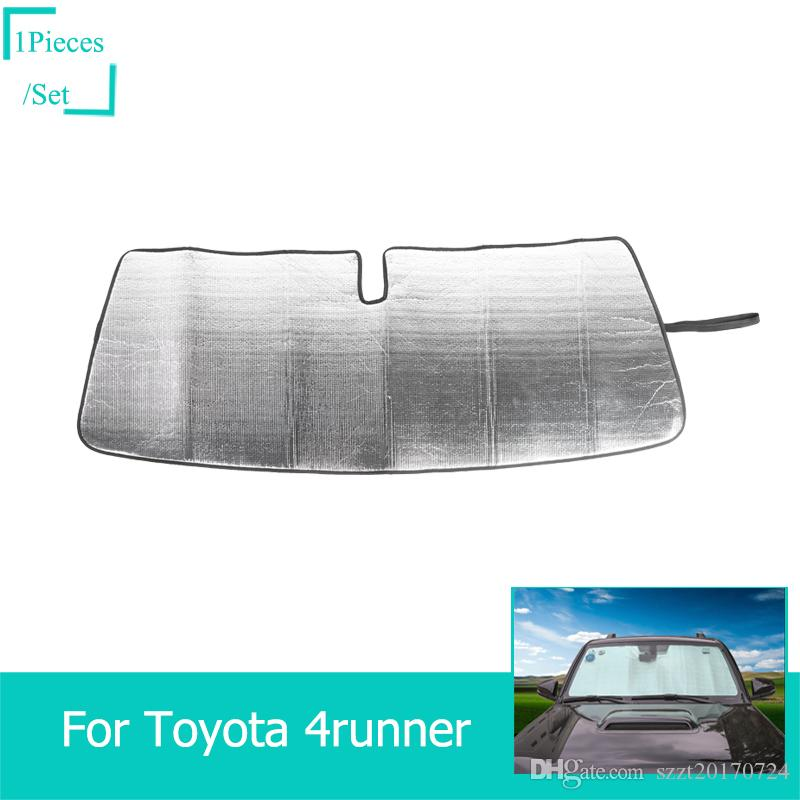 Insulation Aluminum Foil Car Front Windshield Sun Visor Fit Toyota 4runner Super 2017 Car Interior Accessories