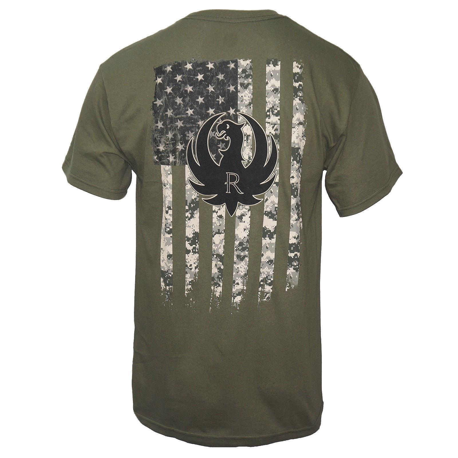 749dae9c Licensed RUGER Military Camo T Shirt Military Green S 3XL NEW Funny Unisex  Casual Gift Humor Tees Funny Tee From Free_will_shirts, $12.96| DHgate.Com