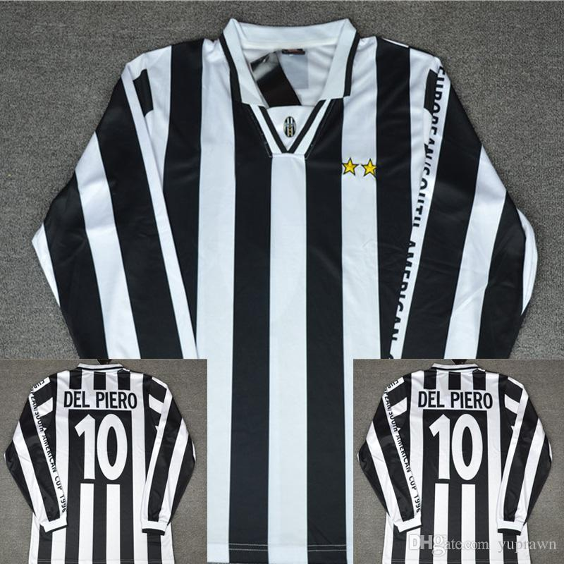 f37d21b1b31 2019 1996 Intercontinental Cup Alessandro Del Piero Soccer Jersey Juventus  VS River Plate Football Shirt Maglie Calcio Del Piero Man Of The Match From  ...