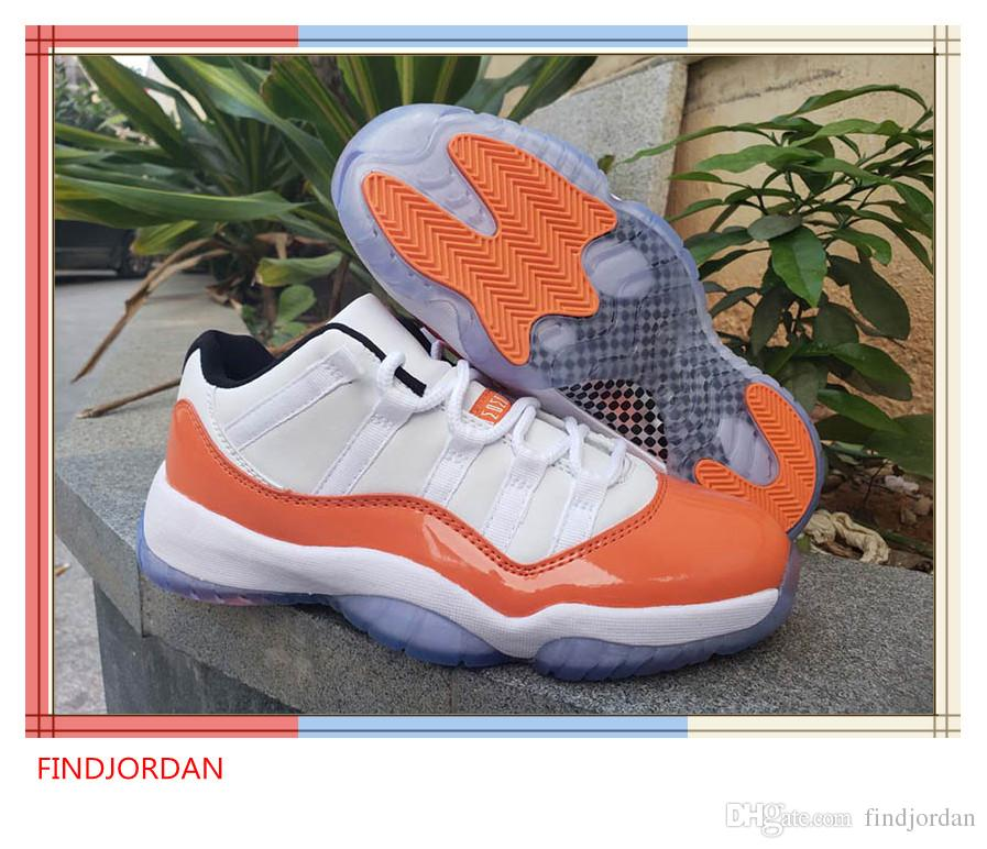bd2ed14d5ca92f 2019 11 Low WMNS Orange Trance White Black Men Basketball Shoes Cheap 11s  Florida Space Jam Mens Designer Sports Sneakers With Box From Findjordan