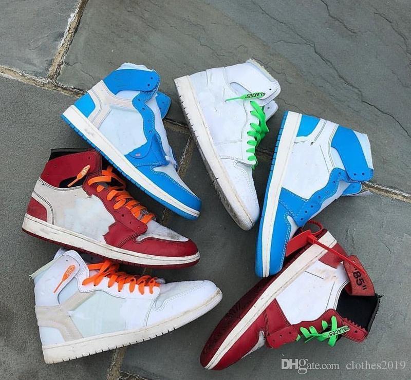 a30a5506a61f 2018 Cheap Mens 1 OG Top Men Basketball Shoes OG Sneakers Top ...