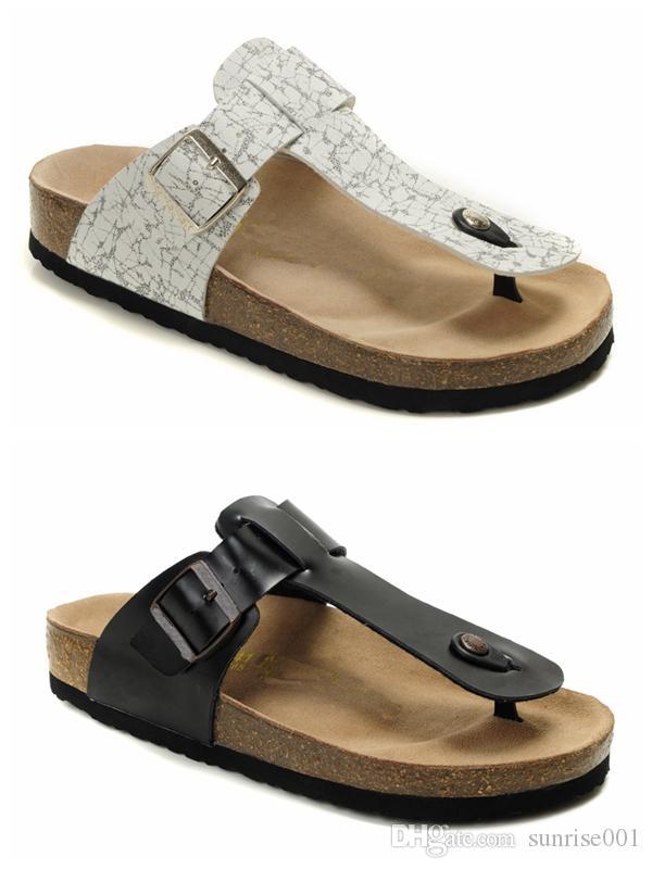 99cb37d7ae Infradito per uomo donna Pantofole di marca Designer Casual Scarpe  Pantofole Hip Hop Street Sandali Moda Confortevole Freeshipping Nero Bianco