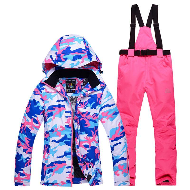 Ski Suit Men Waterproof Ski Jacket Winter Pants Male Snowboard ... 1f00f8a76