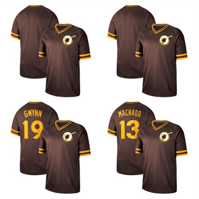 watch 62f76 cf265 Mens Custom Padres 2019 NK jersey Tony Gwynn Fernando Tatis Jr. Baseball  Jerseys
