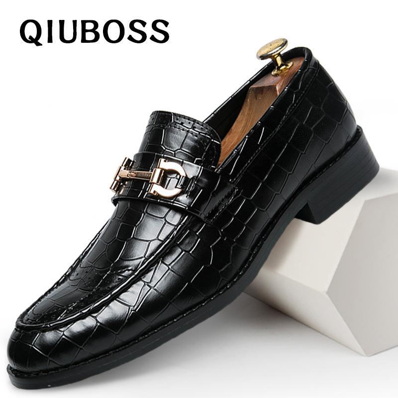07f6cf35f Compre Sapatos Masculinos Sapato Formal Sapato Social Masculino Couro  Marrom Elegante Luxo Terno Sapatos Tamanho Grande Dropshipping Moda De  Vikiipedia, ...