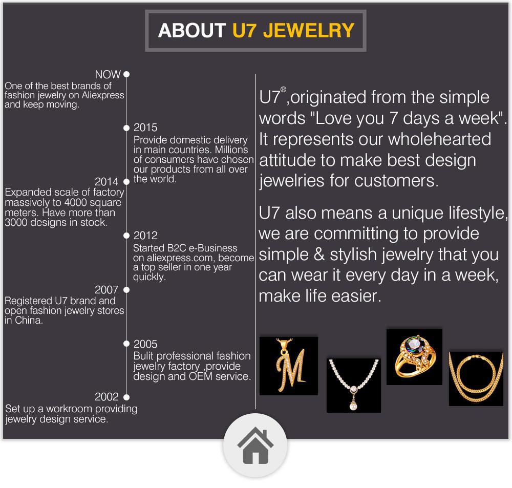 U7 New Alphabet S Lettera Gemelli Gioielli di moda Trendy color oro nome uomini Button Gemelli all'ingrosso C219