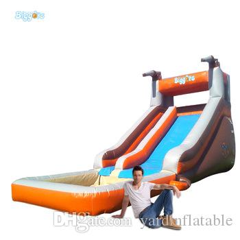 YARD Portable Backyard Cheap Inflatable Water Silde with Pools For Sale