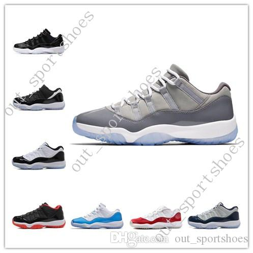 0b445afdfe2 New 11 11s Cap And Gown Prom Night Mens Basketball Shoes Gym Red ...