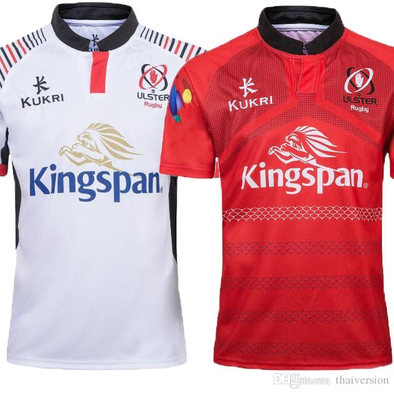 Ulster 2018 2019 Home And Away Rugby Jerseys Kukri Shirt 18 19 ULSTER  National Team League Jersey Leisure Sports Shirts S-3XL ULSTER Rugby Jerseys  Ulster ... 672c780a0