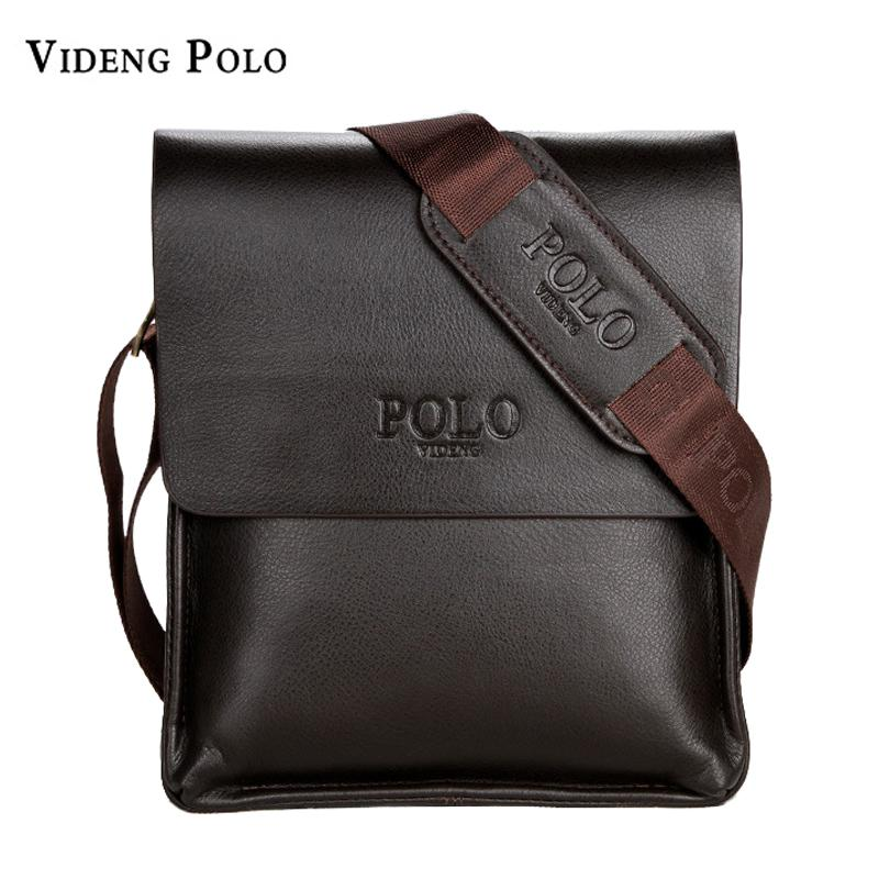 VIDENG POLO Famous Brand Leather Men Bag Casual Business Messenger Bag For Vintage  Men S Crossbody Bag Male Shoulder Bags Bolsas Mens Leather Satchel Filson  ... a7790fe80e