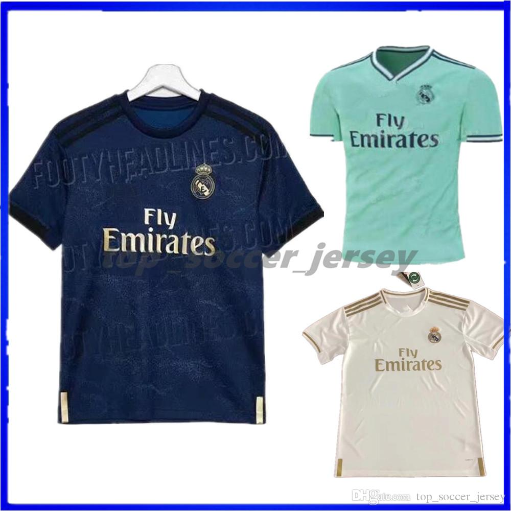 5a0af14ac 2019 Jerseys Real Madrid 2019 2020 Soccer Jersey MODRIC MARIANO ASENSIO  VINICIUS JR Football Shirt BALE RAMOS Camiseta 19 20 ISCO Maillot From ...