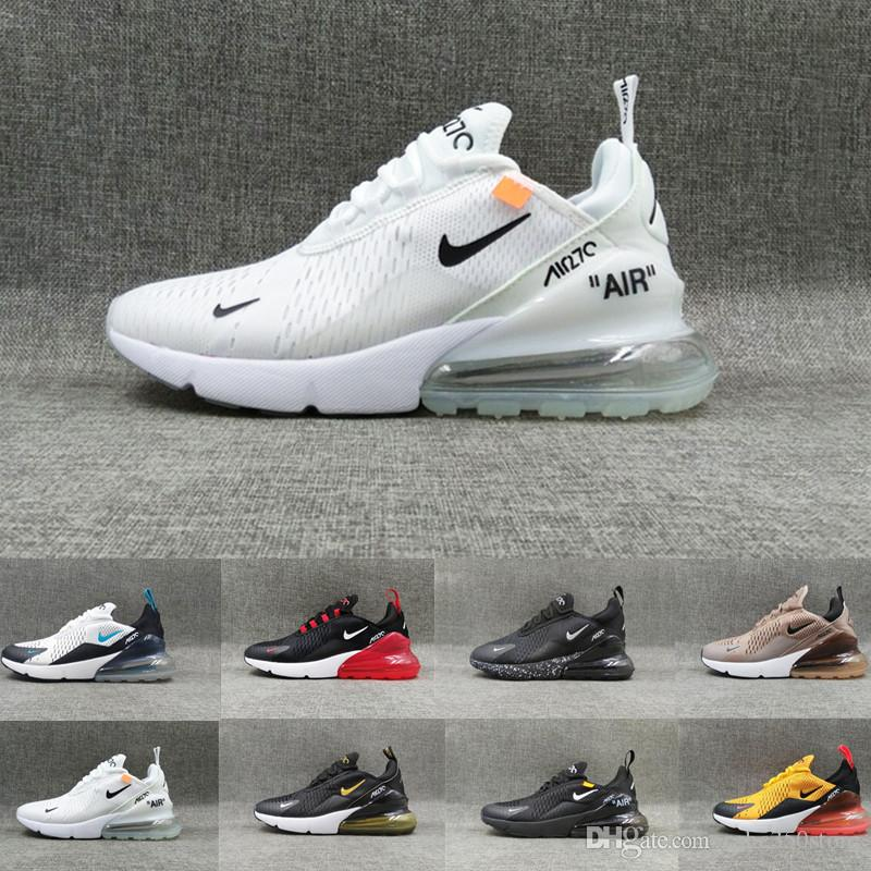 Nike air max 270 airmax 270s 27c 2019 NUEVO Cushion Sneaker Designer Casual Shoes 27c Trainer Off Road Star Iron Sprite Tomate Hombre General Para