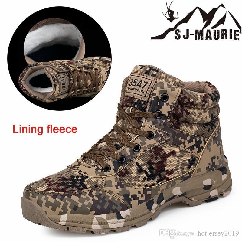 16fd1a161f1d7 2019 SJ MAURIE Outdoor Hiking Shoes Men Tactical Boots Climbing Hiking  Boots Men Trekking Shoes Mountain Waterproof Hunting #325699 From  Hotjersey2019, ...