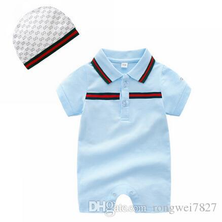 eb019387f 2019 Baby Boy Clothes Summer Baby Girls Clothing Sets Cotton Baby Rompers  Newborn Clothes Roupas Bebe Infant Jumpsuits For 0 24 From Rongwei7827, ...