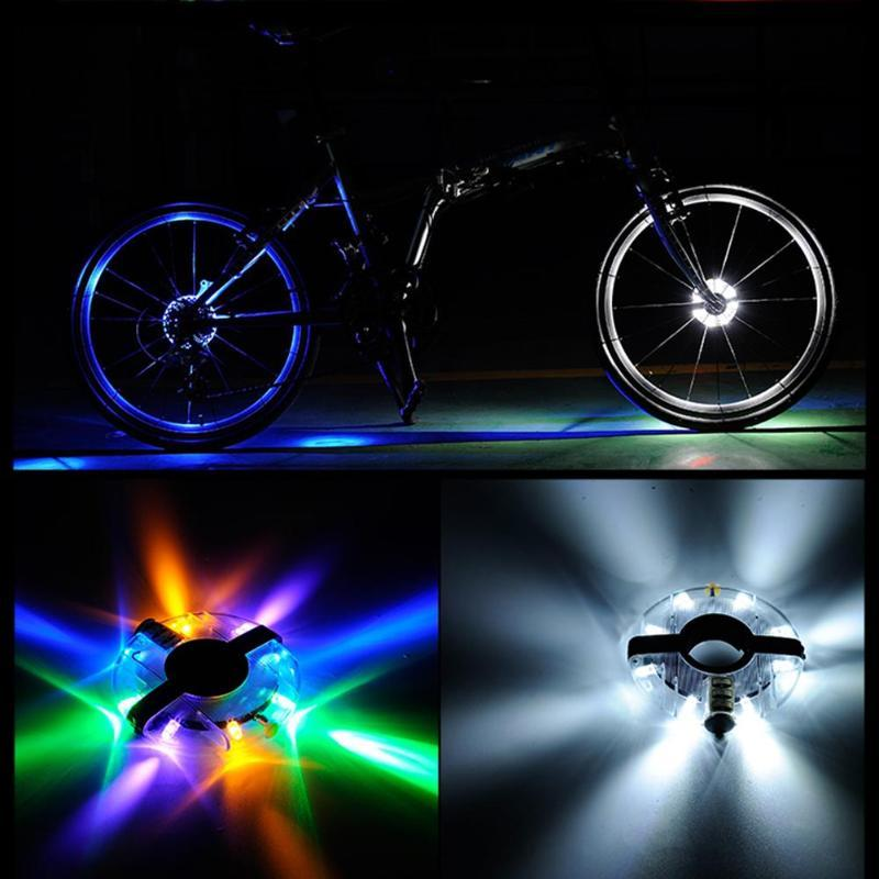 e8f51faef Compre Bicicleta LED Bujes De Rueda Luz Ciclismo Luces Resistente Al Agua  Bicicleta De Carretera Frente Rueda Trasera Rueda Decoración Lámpara Diseño  ...