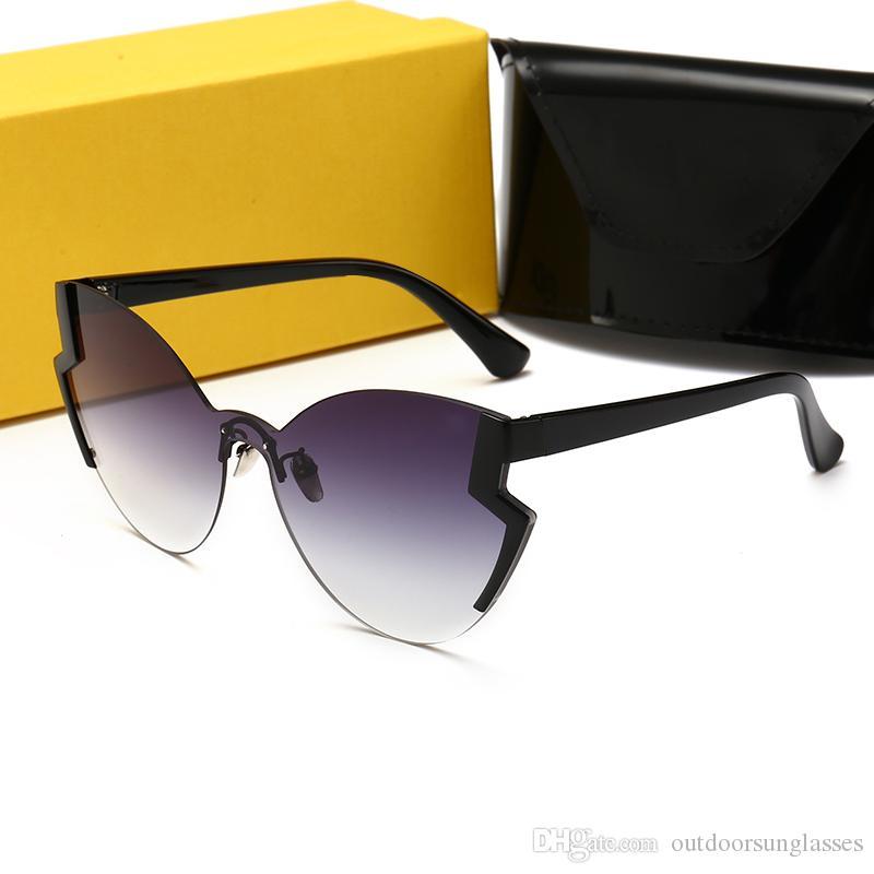 f8f18da63e Compre FENDI 0312 Nuevo Diseñador De Mayor Venta Gafas De Sol De ...