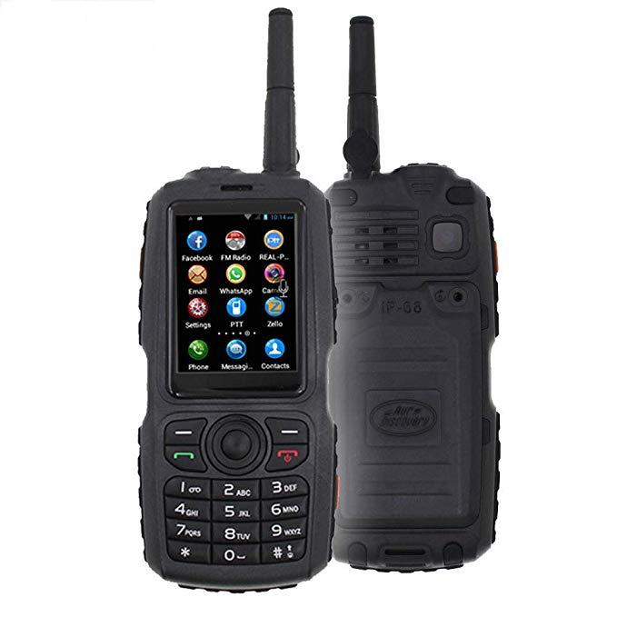 SIM Card wifi GPS google WCDMA/GSM 3G Radio IP68 Water-Proof Walkie Talkie Touch Screen Dual SIM Work with Zello PTT