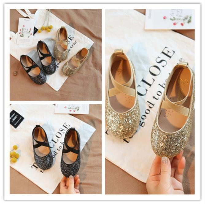 282014bc8ee Children Princess Sandals Elegant Kids Girls Wedding Shoes Gold Dress  Leather Shoes Party Shoes For Girls Casual Girl Shoes Cute Toddler Girl  Shoes From ...