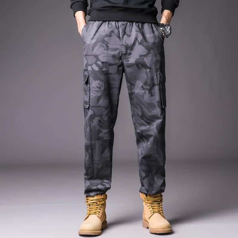 2019 100 Cotton Men S Cargo Pants Safafi Style Full Length With