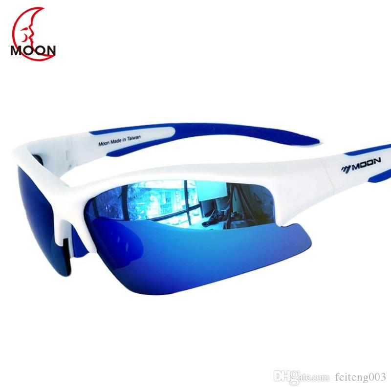 5bd7215d46606 2019 MOON Professional Cycling Glasses Outdoor Sports Cycling Eyewear Road  Mountain Bike Sunglasses UV400 TR90 Gafas Ciclismo  123527 From Feiteng003