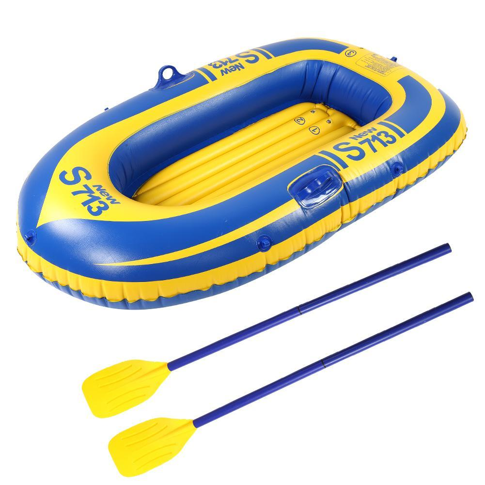 boats PVC Thickening Inflatable Kayak Canoe Fishing Drifting Diving Boat  Raft 1 Person pvc boat