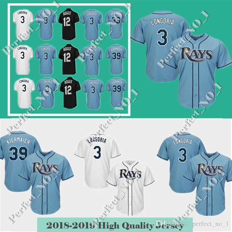 4596ecbd7 ... hot mens tampa bay rays 3 evan longoria 39 kevin kiermaier baseball  jersey majestic cool base sale ...