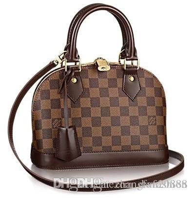 2019 Alma BB M53152 WOMEN HANDBAGS Classic Style Brown ICONIC BAGS TOP HANDLES SHOULDER BAGS TOTES CROSS BAGS handbag CLUTCHES EVENING