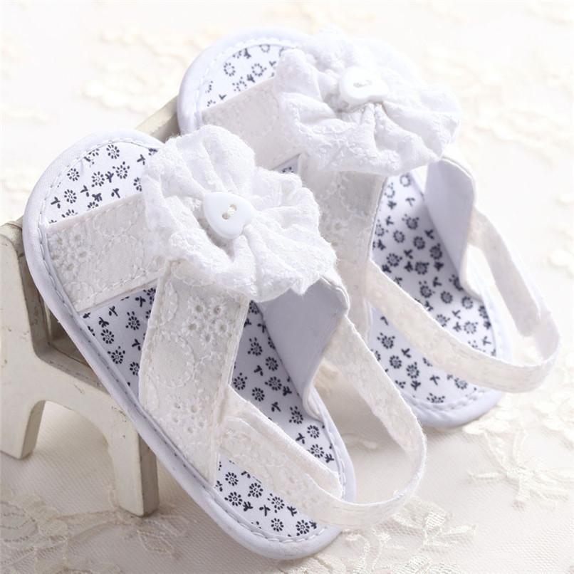 Sandalen Blume Baby Baumwollgewebe Mädchen Kleinkind Kind Dunkelblau Sommer Nda84l25 Weiß Schuhe Prinzessin I7bvfY6yg
