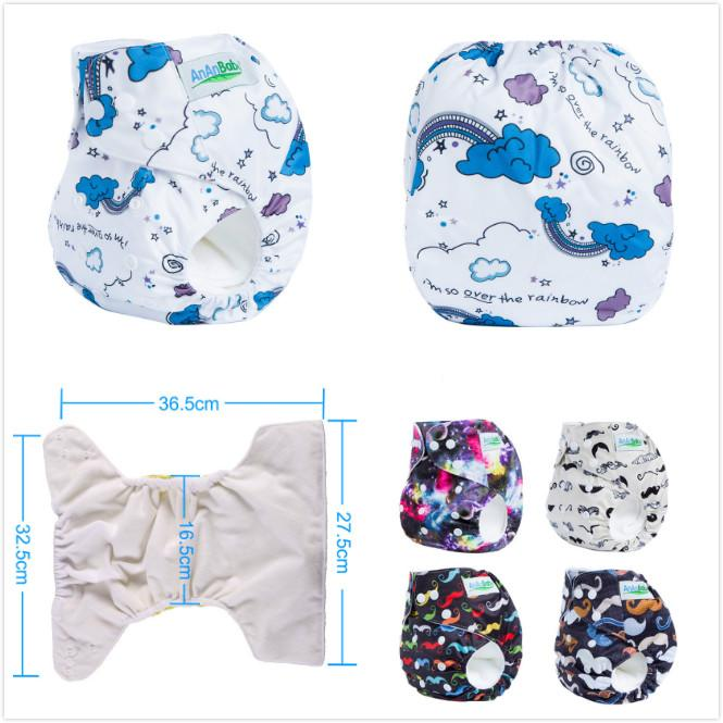 43e08376df9 2019 Quality  Pack Baby Washable Reusable Diaper Nappy One Size Adjustable  Infant Girl Boys Cloth Diapers Covers Training Pants From Wminicat