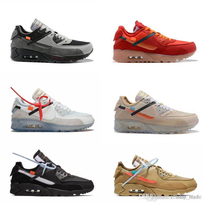 611ececbb65 Designers 90 Off Running Shoes Sneakers Mens Desert Ore Volt Airing Fashion  Brand Luxury Classic 90s Training Sports Sneakers Hoka Running Shoes Shoes  On ...
