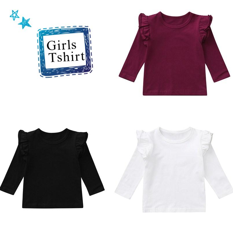 207dc04f10c9 2019 Winter Baby Clothes Baby Girls Tops And Tees Toddler Kids Baby ...