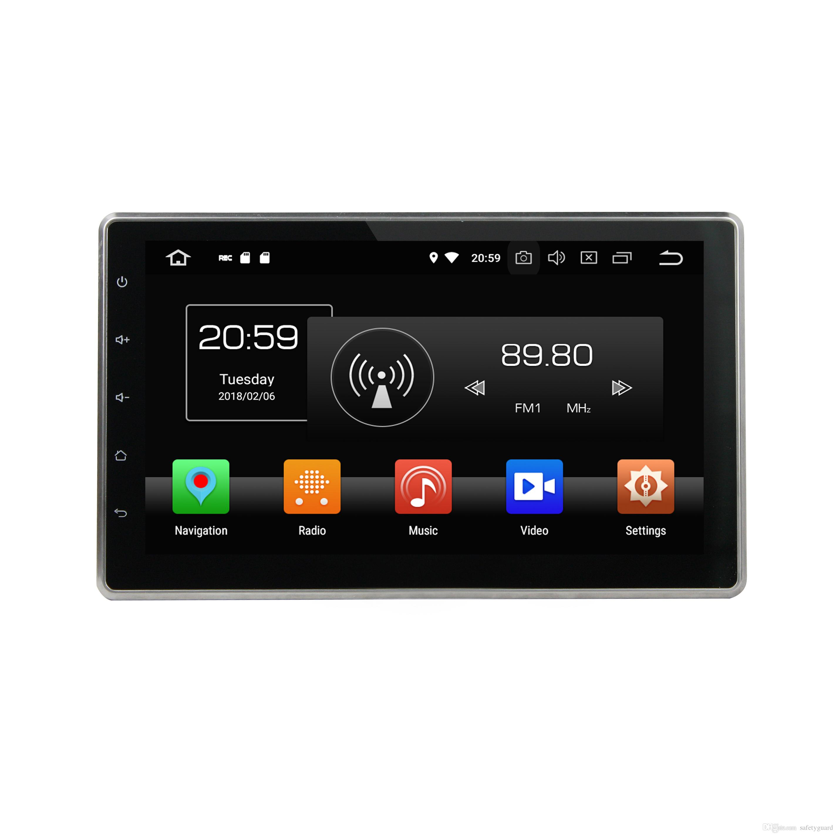 4GB 64GB Universal PX5 Android 9 0 Octa Core 2 din 10 1 Car DVD Player RDS  Radio GPS Glonass Bluetooth WIFI USB DVR Mirror link