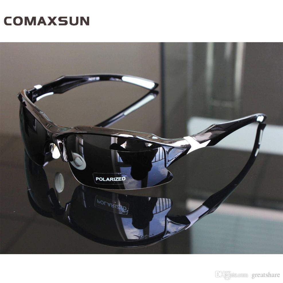 c7b037af49 Comaxsun Profesional Polarizado Ciclismo Gafas Gafas De Deportes MTB  Bicicleta Gafas De Sol Gafas Miopía Marco UV 400 # 69754 Por Greatshare, ...