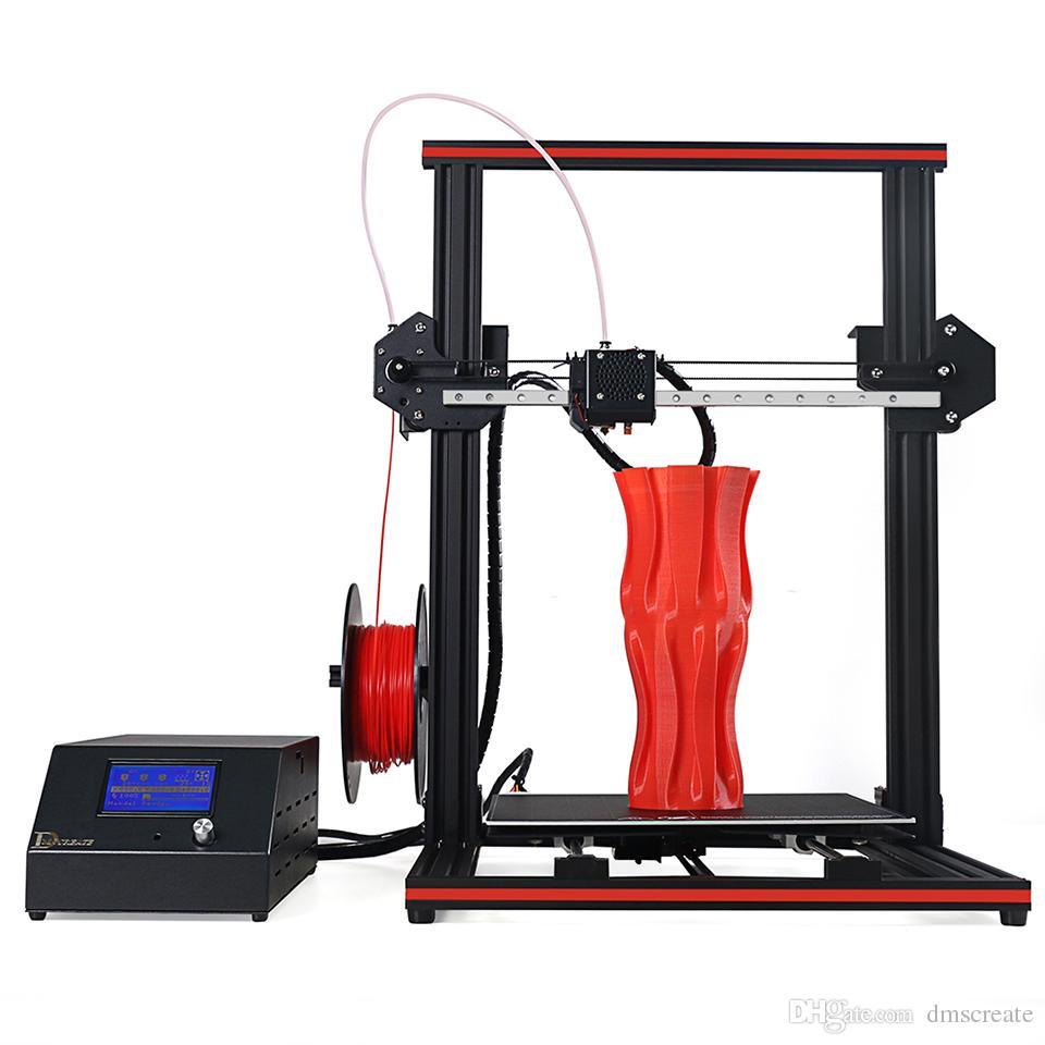 300*300*400mm Big Printing Size DMSCREATE DP334 3D Printer DIY kit Linear  Guide pre-assembly 24V Power supply high precision