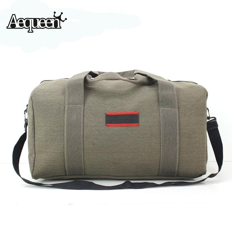71a86a2b670 AEQUEENNew Fashion Men Women Travel Bags Large Capacity 36-55L Luggage  Duffle Bags Canvas Folding Bag For Trip Waterproof Online with  30.98 Piece  on ...