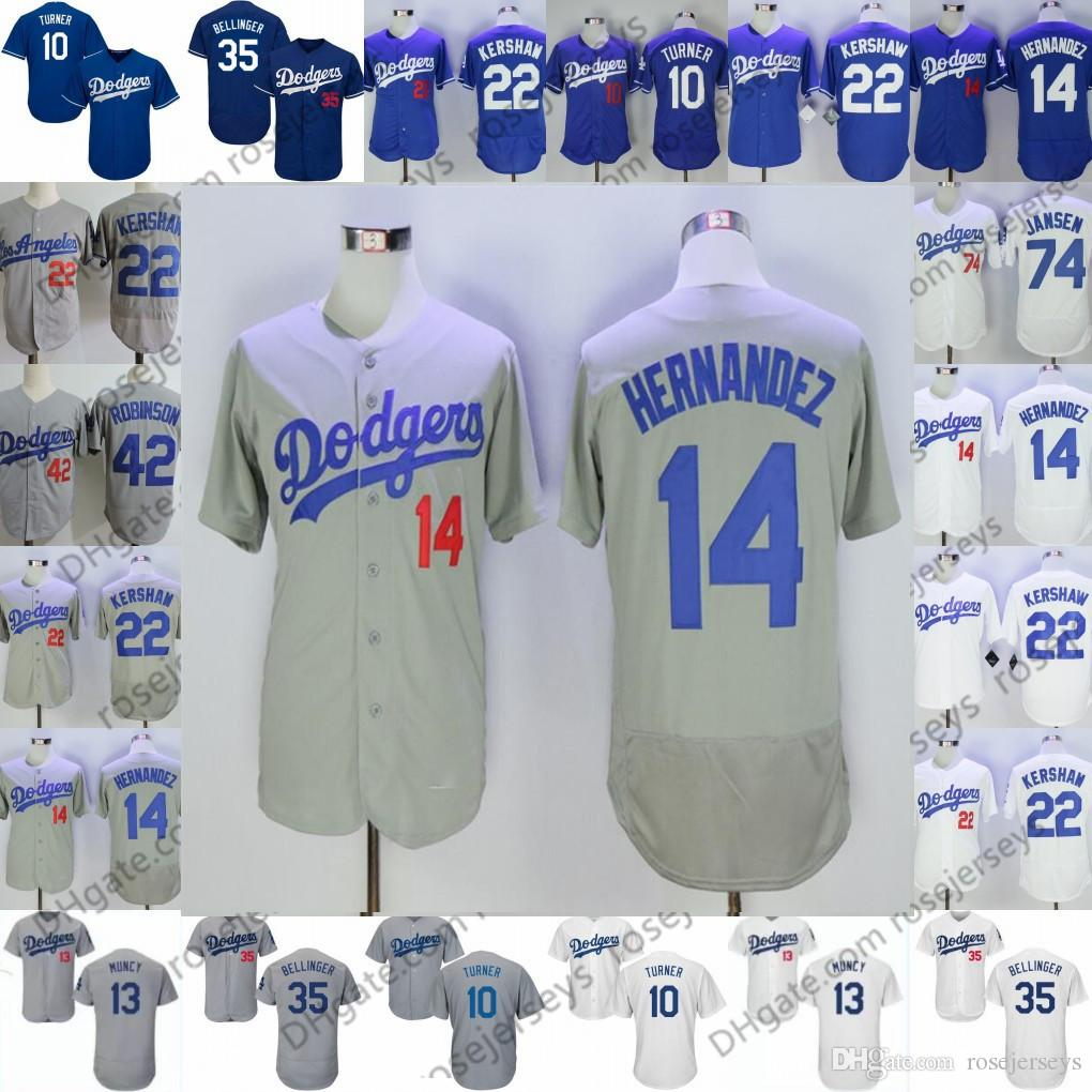 quality design ada87 f3a43 2019 Dodgers Jerseys Los Angeles #3 Chris Taylor 5 Corey Seager 7 Julio  Urias 14 Enrique Hernandez 15 Austin Barnes 17 Joe Kelly