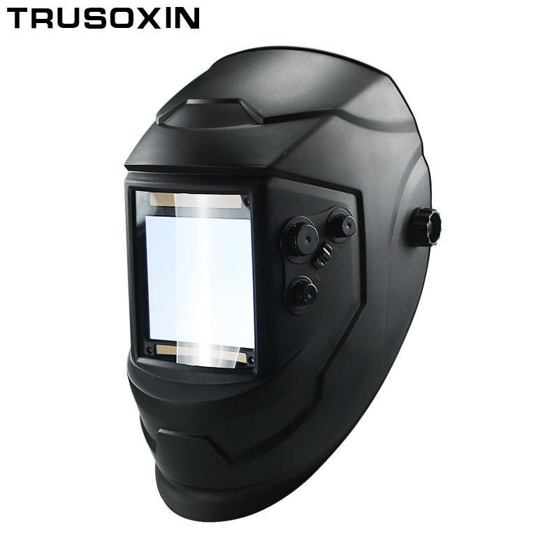 b59a38149f Compre Big View Eara 4 Sensor De Arco Din5 Din13 Solar Oscurecimiento  Automático Tig Mig Mma Máscara De Soldadura / Casco / Tapa De Soldador /  Lente ...