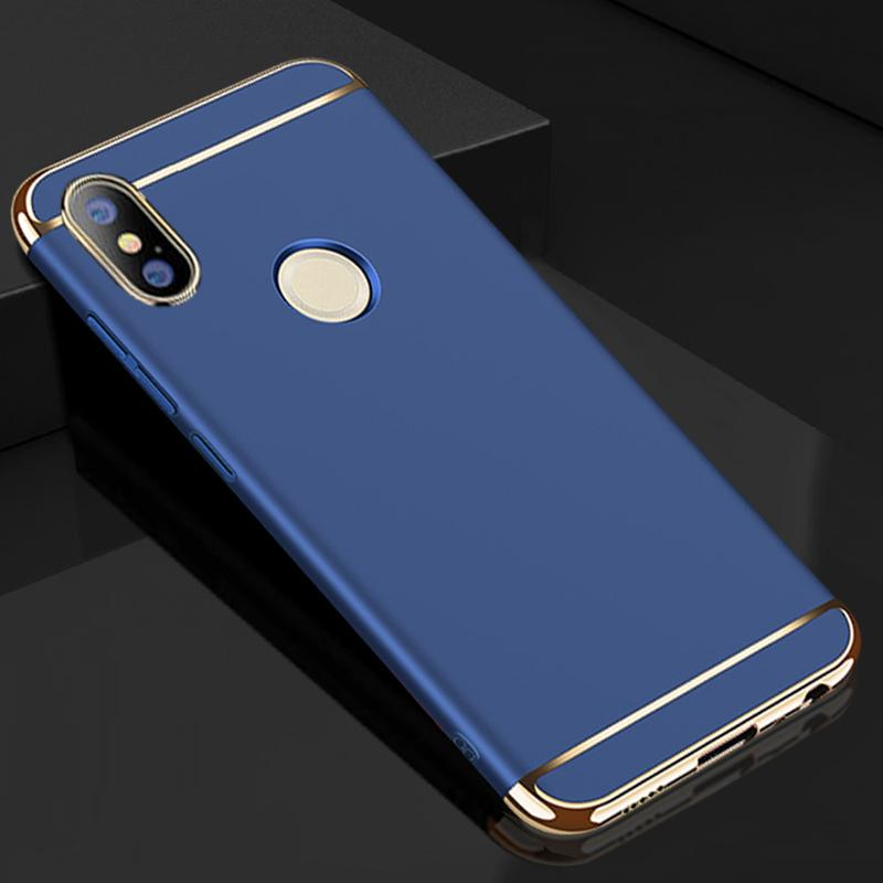 purchase cheap 747e9 9f59c Case For Xiaomi Redmi Note 5 Pro Cover 360 Degree Protection Hard Pc 3 In 1  Case On Coque Xiomi Note5 5pro Phone Cases