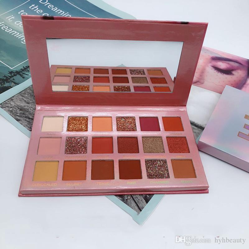 HOT beauty Makeup palette Nuevo NUDE 18colors Eyeshadow Palette matte shimmer Alta calidad