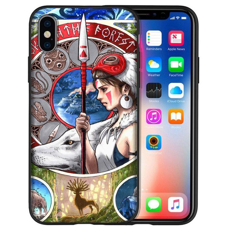 coque iphone xs max silicone princesse