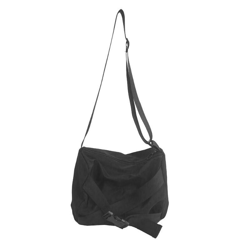 Borsello in modo del nero di nylon casuale Corporatura Shoulder Bag Messenger