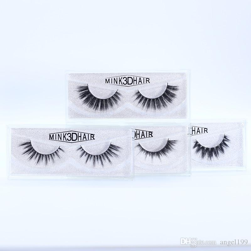 416d182c55d DHL 15model 3D Mink Eyelashes Extension Strip Eye Lashes Thick False ...