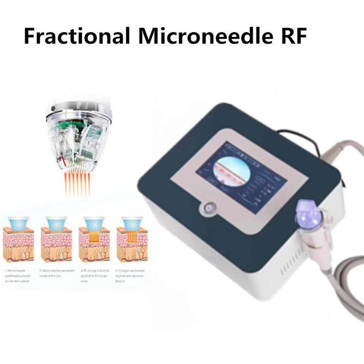 New Design Fractional RF Microneedle Scar Acne Stretch Mark Removal Anti Wrinkle Radio Frequency RF Facial Micro Needle Machines