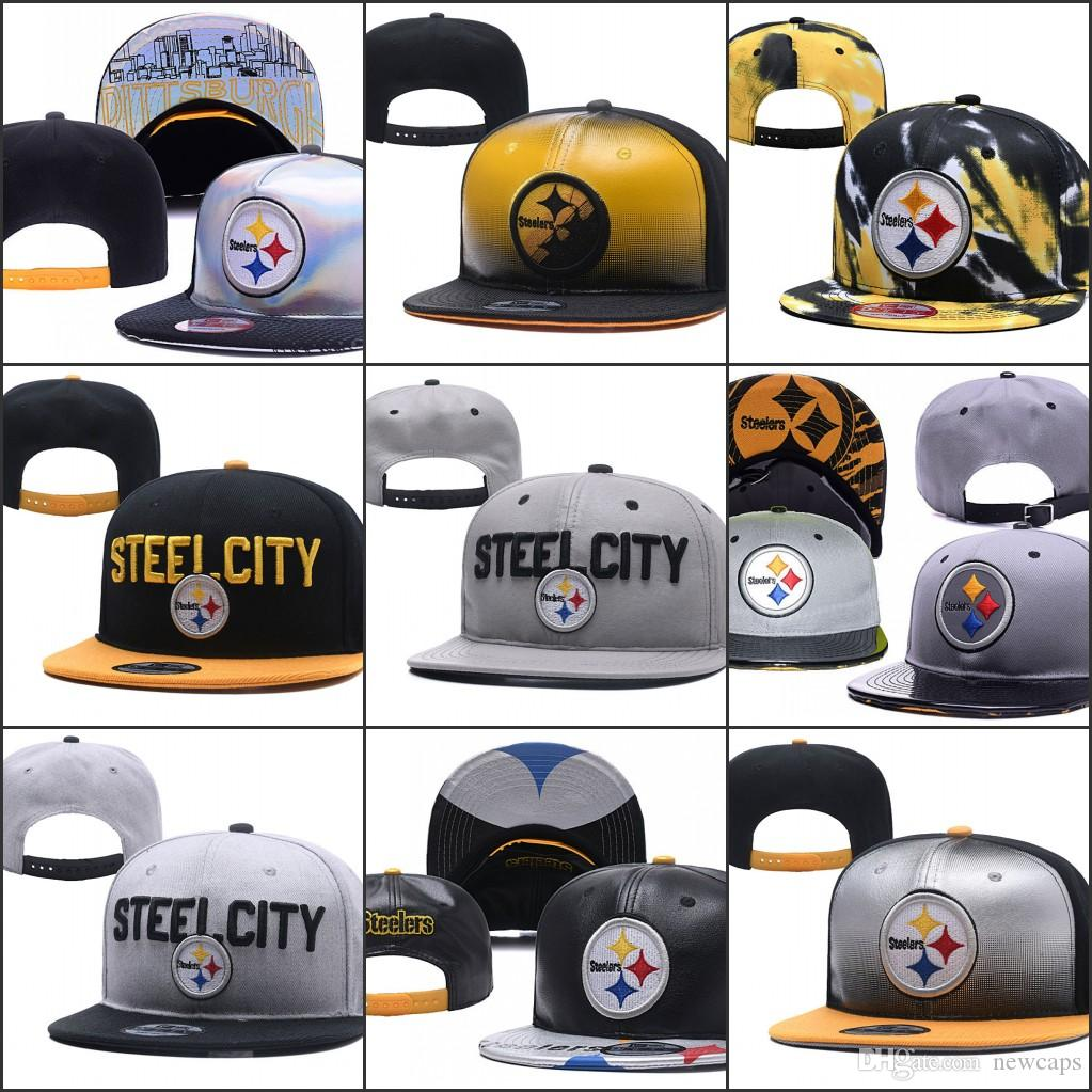 2019 Pittsburgh Adjustable Hats Steelers Embroidery Team Logo Snapback All  Team Wholeasle Knit Beanies Caps One Size Ny Caps Ball Cap From Newcaps 2836f9ced