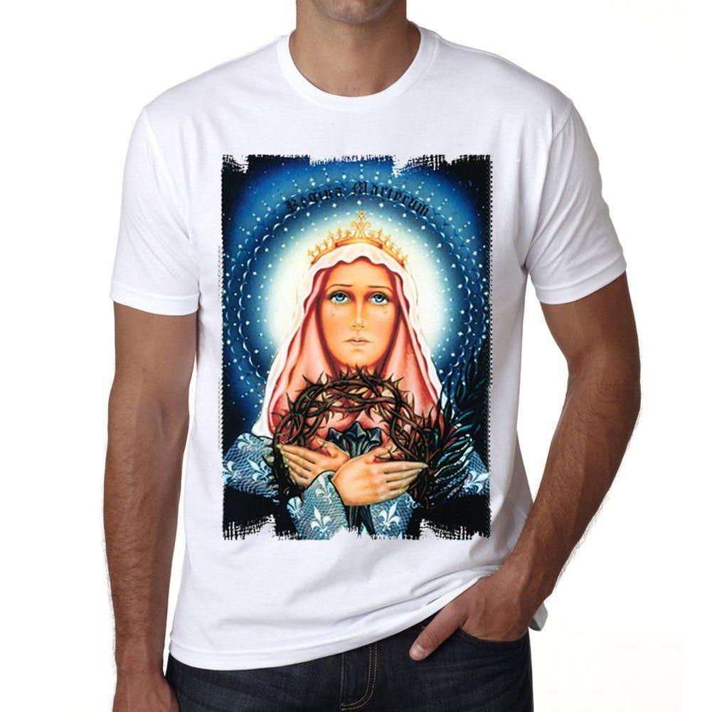 Mary God Mother H Tshirt Herren T-shirt Tees camiseta personalizada Jersey