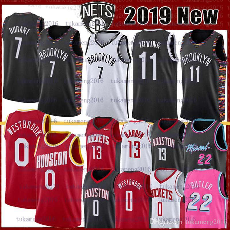 7 Kevin Durant 11 NCAA Kyrie college Irving Basketball Jersey Russell 0 Westbrook 8 Walker Jimmy 21 Butler James 13 Harden maglie