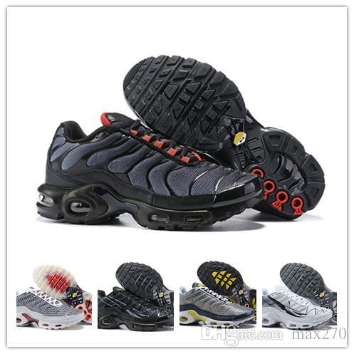 finest selection b0cc8 80c8e Acquista 2019 New Mercurial TN Plus SE Scarpe Da Uomo Outdoor Run Shoe Nero  Bianco Sport Walking Scarpe Da Ginnastica Tns Chaussure Homme Sport  Athletic ...